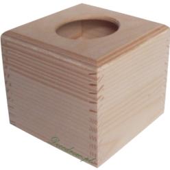 Chustecznik drewniany do ozdabiania