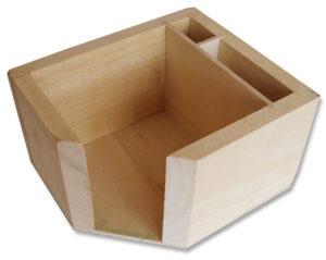 Drewniane pudełeczko na kartki