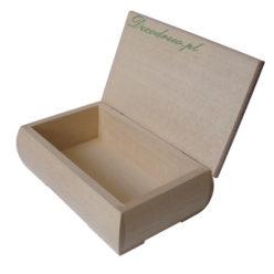 Drewniana szkatułka do ozdabiania
