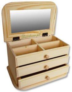 Pudełka na kosmetyki lub biżuterię.
