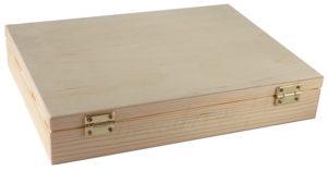 Pudełko drewniane A4