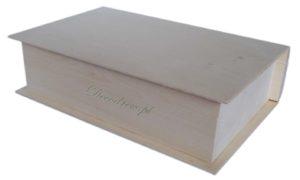Wymiary (↖ 29cm) (↕ 7,5cm) (↔ 19cm) książki do decoupage
