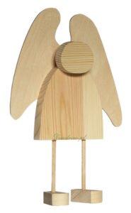 Produkcja aniołków z drewna decodrew