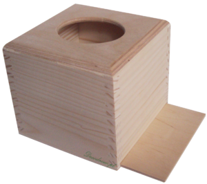 Chustecznik drewniany producent