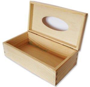 Drewniany chustecznik