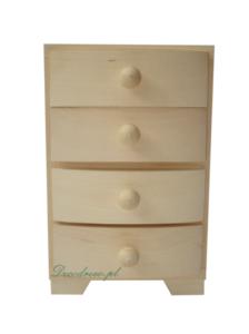 szafka drewniana decoupage