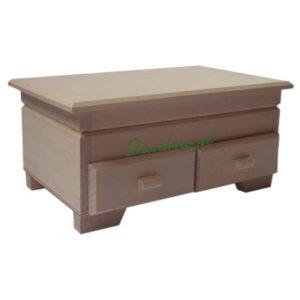Drewniana komoda decoupage Wymiary: DŁ; 24 cm x szer;14cm x wys;11cm