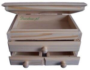 Szkatułka produkcja elementów drewnianych