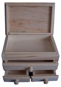 Drewno szkatułka decodrew