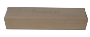 Skrzyneczka drewniana piórnik decodrew