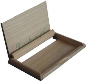 Drewniany wizytownik