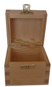 Pojemnik na herbatę eko wym 7,4cmx7,4cmx wys;4,9cm