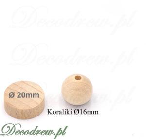 Drewniane kulki z dziurką produkcja i sprzedaż hurtowa przedmiotów toczonych