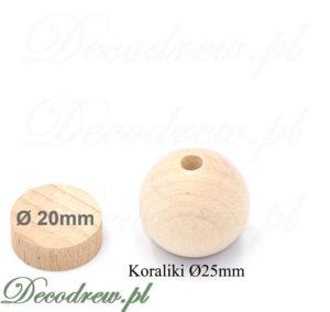 Sklep oferta na koraliki do nawlekania drewniane, wytwarzanie biżuteri handmade, dekoracje decoupage oraz akcesoria do zabawek.