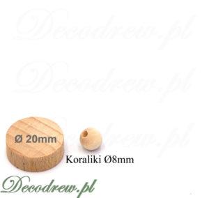 Mini koraliki drewniane hurt i sprzedaż detaliczna. Jesteśmy producentem elementów toczonych do zabawek i galanterii drewnianej.