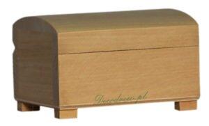 Drewniany kuferek mini decodrew