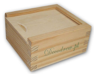 Pudełko pamiatkowe drewniane pendrive