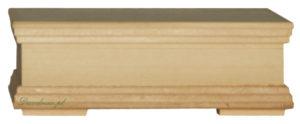 Skrzynka drewno decoupage