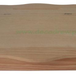 Pudełko na papeterię drewniane nie malowane decodrew