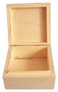 Pudełko drewniane do decoupage