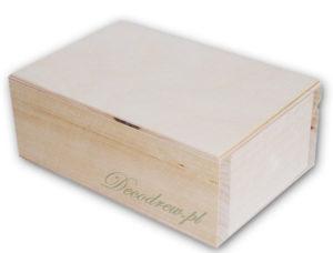 Produkcja pudełek i skrzynek drewnainych decodrew