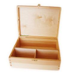 drewniane pudełko na alkohole