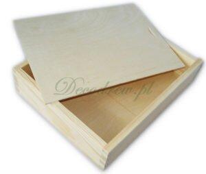 Pudełko szkatułka drewniana decoupage