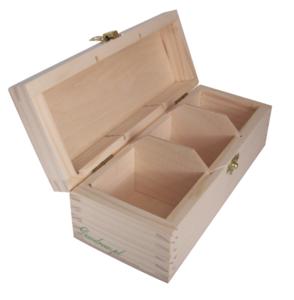 Herbaciarka potrójna drewniana