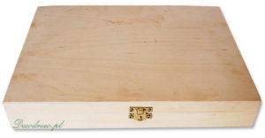 Drewniane pudełka do decoupage