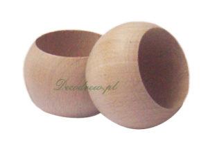 Serwetniki drewniane tokarstwo w drewnie