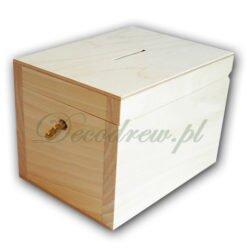 Skarbonki drewniane produkcja decodrew
