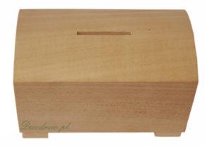 Skarbonki drewniane produkcja na zlecenie