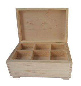 Kuferek skrzyneczka drewno produkcja