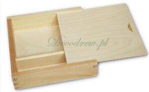Skrzynka pudełko drewniane na zdjecia decodrew produkcja galanterii drewnianej