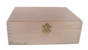 Szóstka herbaciarka decoupage drewniana