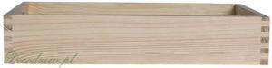 Surowa tacka drewniana nie malowana produkcja decodrew