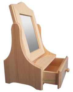 Drewniana toaletka produkcja producent decodrew