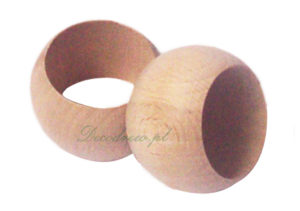 wood napkin ring decodrew