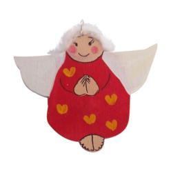 Anioł drewniany