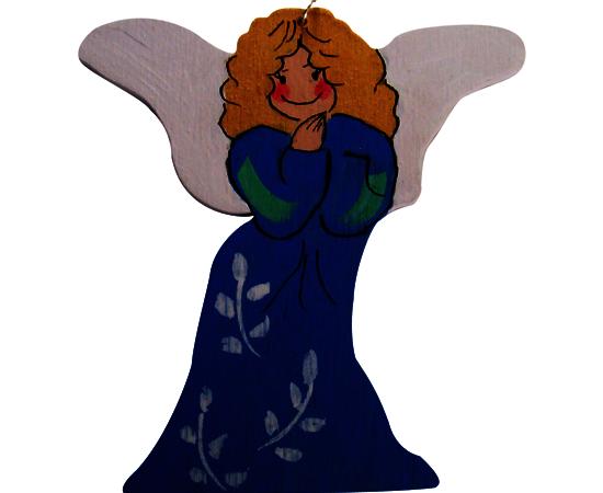 Anioły ręcznie malowane