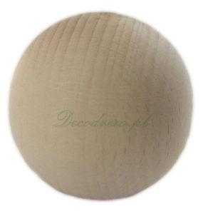 Drewniane bombki surowe toczone decodrew