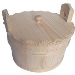 Misy drewniane rękodzieło decodrew decoupage