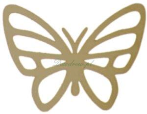 Ażurowy motyl wycinane laserem.