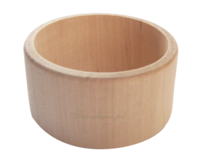 Toczenie w drewnie bransolety i biżuteria drewniana decodrew
