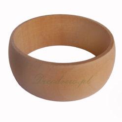Toczona bransoleta drewno