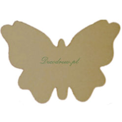 Motylki wycinanki laserowe