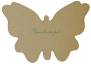 Wycinanki laserowe do decoupage Motyl.