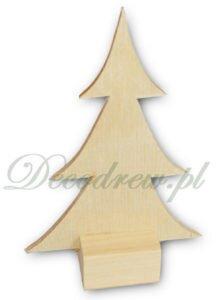 Drewniana choinka wycinanki ze sklejki decodrew