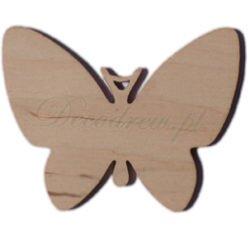 Motyl drewniany wycinanki laserowe