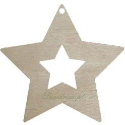 Wycinanki świąteczne boze narodzenie drewniane decodrew